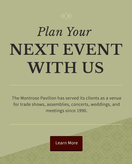Plan Your Next Event With Us